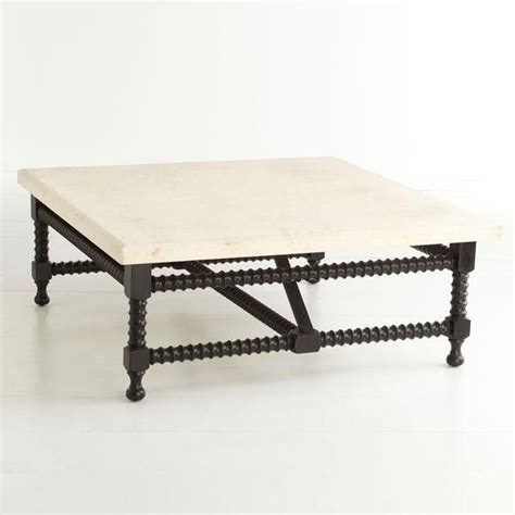 travertine top coffee table travertine top coffee table wisteria