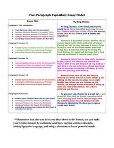 Teaching The Five Paragraph Essay by 5 Paragraph Expository Essay Graphic Organizer