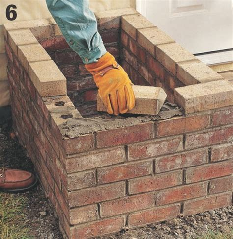 How To Build A Brick Planter by How To Build A Brick Planter Home Improvement And Repair