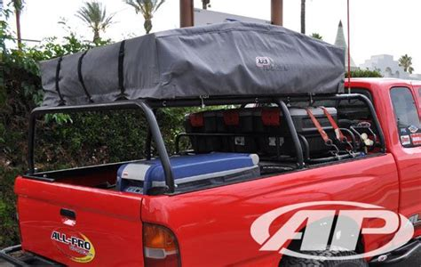 off road truck bed rack all pro offroad tacoma bed rack trucks pinterest