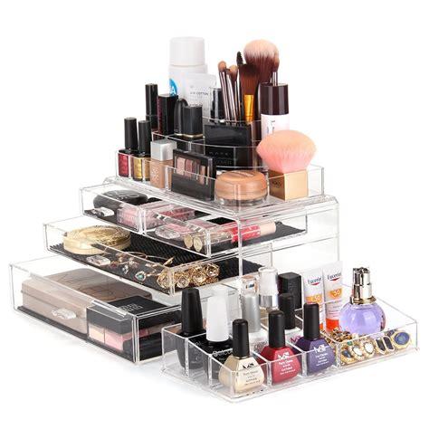Acrylic Makeup Organizer large cosmetic organizer roselawnlutheran