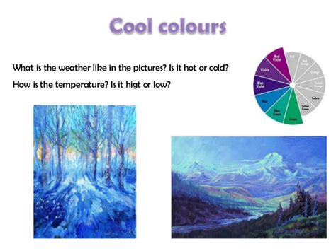 what are cool colors 4 cool colours and warm colours