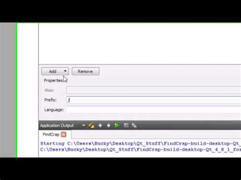 qt video tutorial youtube c gui with qt tutorial 14 running our awesome