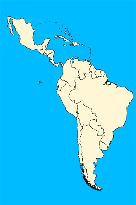 america map for practice map of south america and central america quiz