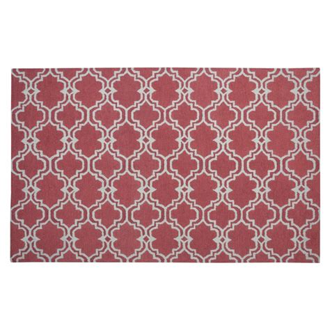 moroccan tile rug moroccan trellis scroll tile rug 5 x 8