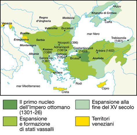 espansione impero ottomano bm fare storia