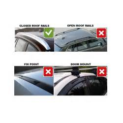 Vauxhall Zafira Roof Bars Thule Roof Bars For Vauxhall Zafira 07 2014 From Direct