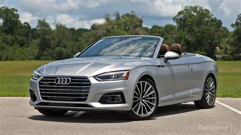 Audi Cabrios by 2018 Audi A5 Cabriolet Driven Review Top Speed