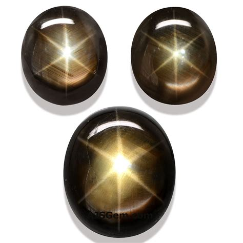 Black Saphire gemstones at ajs gems