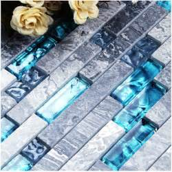 Mother Of Pearl Bathroom Accessories by Sale 11sf Sea Blue Glass Tile Kitchen Backsplash Marble