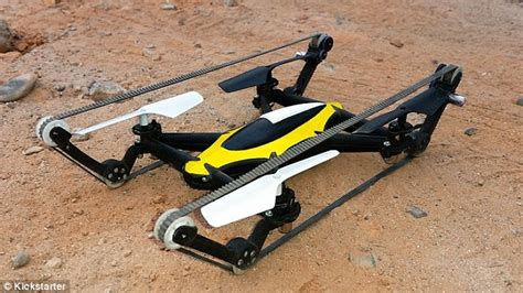 Drone Flying Tank flying tank dron climbs terrain and can take to the air if needed daily mail