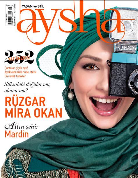 Tunik Ayesha aysha dergi hakk箟nda yaz箟lar tesett 252 r giyim