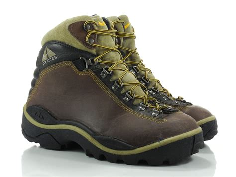 Nike Trekking Brown Brown nike acg air 8 m womens boots brown leather hiking lace up trekking ankle
