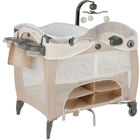 Travel Cot Changing Table Graco Contour Prestige Travel Cot Prams Net
