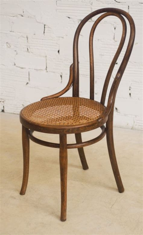 chaise bistrot thonet chaises thonet ancienne authentique originale bois