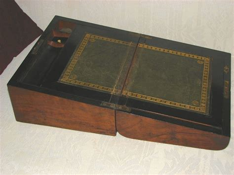 Antique Portable Writing Desk by Question About Antique Portable Writing Desk Paper And