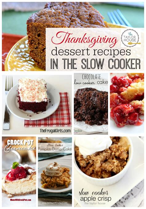 thanksgiving slow cooker recipes the taylor house