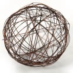glittered wire ball 9cm ornaments