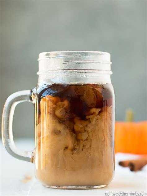 Homemade Pumpkin Spice Coffee Creamer (Coffee Mate Copycat Recipe)