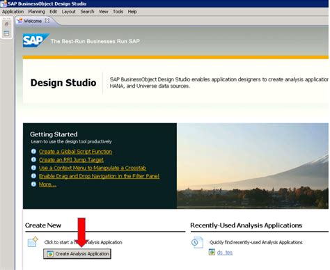 tutorial on sap business one sap business objects design studio sap hana tutorial