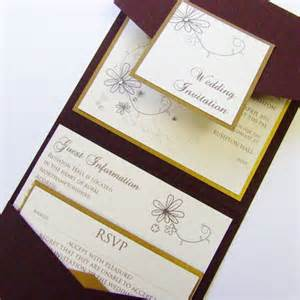 design of the week pocketfold wedding invitation by wedding paraphernalia 187 wedding invitation