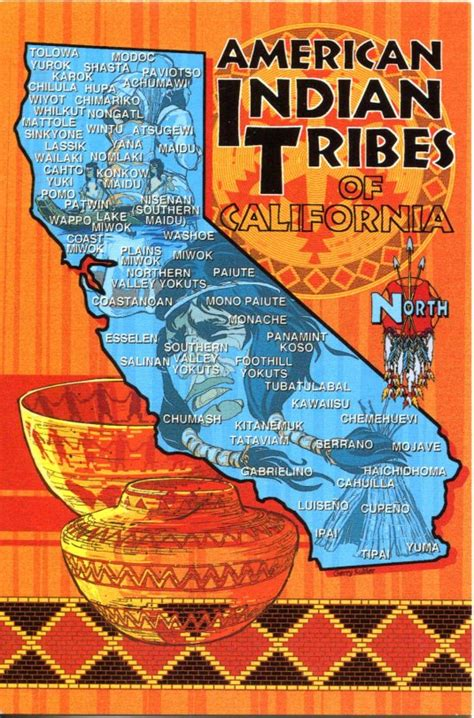 american tribes in california map usa california remembering letters and postcards