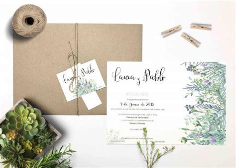 tendencia cactus para las invitaciones de bodas vestidos de novia invitaciones de boda originales dise 241 o tu propia invitaci 243 n de boda