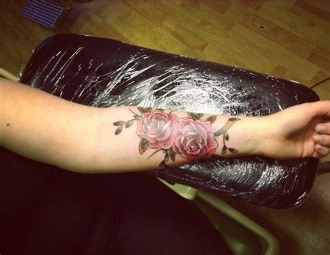 2 roses tattoo forearm designs for forearm tattoos for