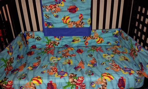 under the sea comforter set hand crafted under the sea custom crib set by nancy s