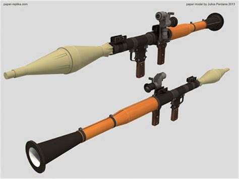 Rpg Papercraft - size rpg 7 launcher papercraft papercraft paradise
