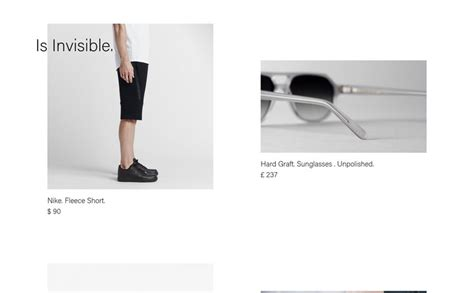 design is invisible is invisible siteinspire