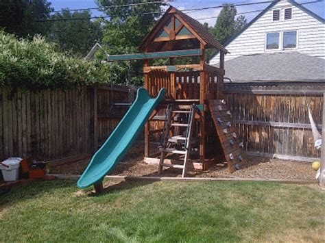small backyard play structures denverfixit com swing set play set installations assemblies and moves serving the denver