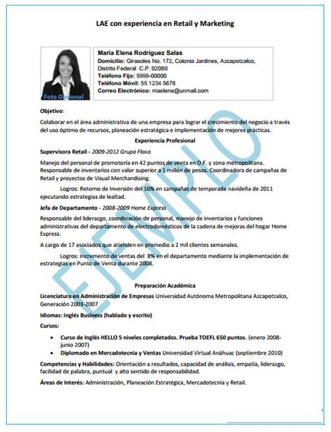 Modelo Curriculum Vitae Para Practica Profesional Consejos Para Elaborar Un Curriculum Escencia De Mujer