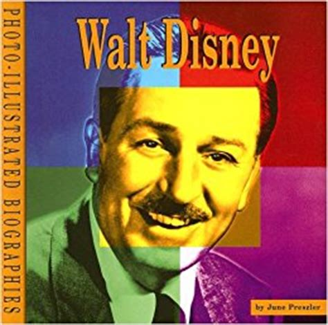 biography book on walt disney walt disney a photo illustrated biography photo