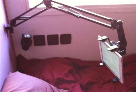 ipad headboard mount 5 awesome diy tablet mounts for bed vote for the best and