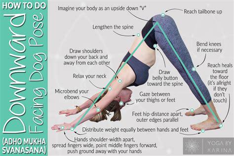 tutorial de yoga yoga tutorial how to do downward facing dog pose adho