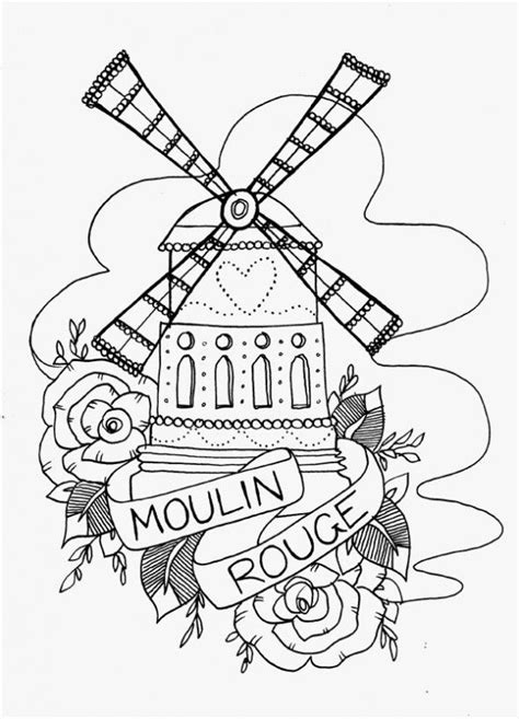 moulin rouge tattoo moulin search ideas