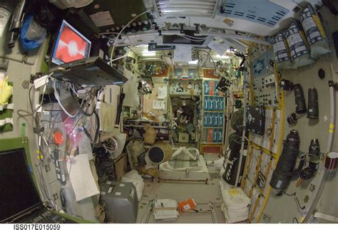 Iss Interior by International Space Station Imagery Interior View Of The