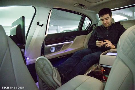 the most comfortable car in the world bmw 740i photos business insider