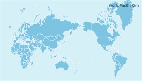 printable world map pacific centered premium map pack amcharts