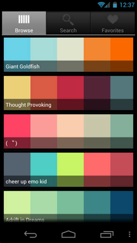 colors app pantone color apps for iphone and android