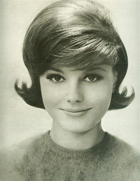 Classic early 60's hairstyle   From Seventeen, August 1962   Flickr