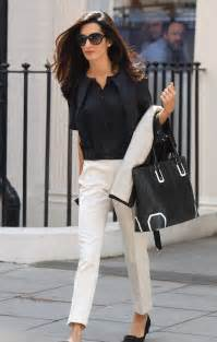 Black amp white work outfits for women 1