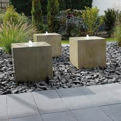 wasserspiel terrasse brunnen wasserspiele birkenmeier garten