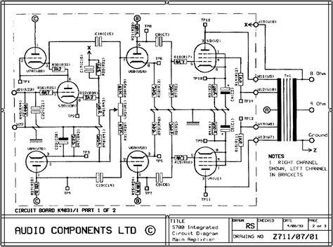 lifier top circuits page next gr el34 schematic