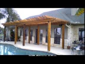 How To Build A Pergola With Roof by Build A Pergola In 15 Minutes Youtube