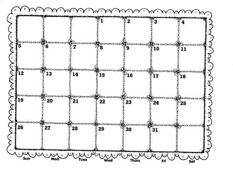 Black And White Calendar Calendar Black And White Clipart Clipart Suggest