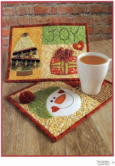 mug rug designs 17 best ideas about mug rugs on mug rugs placemats and