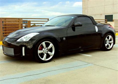 nissan convertible black nissan 350z convertible black imgkid com the image