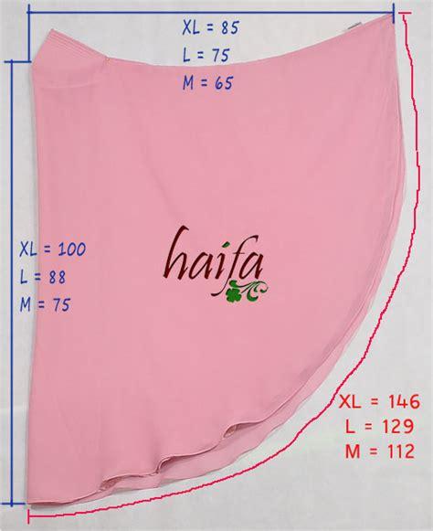Jilbab Instan Haifa jilbab instan rumah jahit haifa